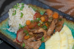 farmers market stir fry on 100 Days of #RealFood