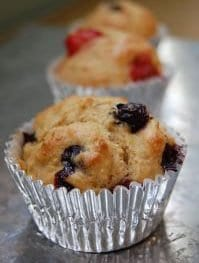 Whole Wheat Muffins from 100 Days of Real Food
