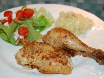 The Best Whole Chicken in a Crock Pot 1