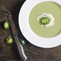 Potato and Spinach Soup (from The Nourished Kitchen Cookbook) on 100 Days of #RealFood