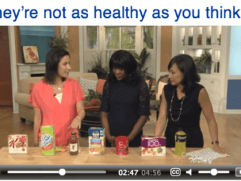 "Video: 7 ""Healthy"" Foods - That Really Aren't"