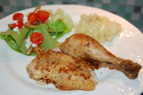 The Best Whole Chicken in a #CrockPot on 100 Days of #RealFood
