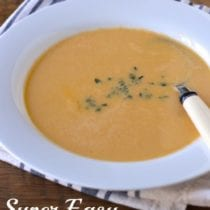 Super Easy Shrimp Bisque on 100 Days of #RealFood