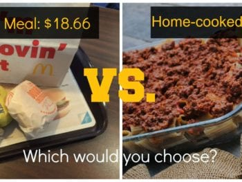 5 Home Cooked Meals Cheaper than McDonald's