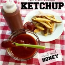 Easy Homemade Ketchup in the Slow Cooker + DIY in the Kitchen 3
