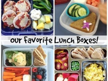 Our favorite lunch boxes on 100 Days of #RealFood