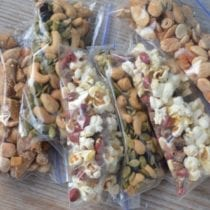 Snack Idea - 3 Creative Trail Mixes on 100 Days of Real Food