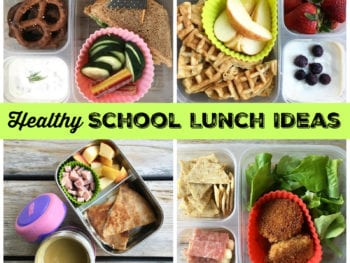 Healthy School Lunch Ideas on 100 Days of Real Food