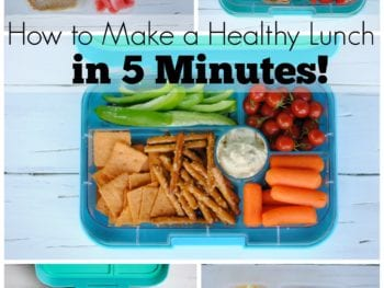5 Healthy Packed Lunches in 5 Minutes 1