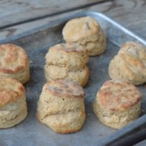 How to Make the Fluffiest Whole-Wheat Biscuits