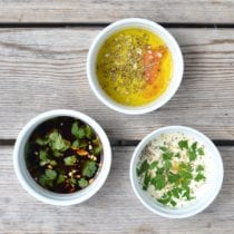 My 3 Favorite Marinades on 100 Days of Real Food