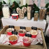 Hot Chocolate Bar on 100 Days of Real Food