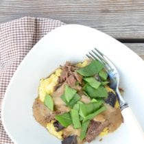 Slow Cooker Beef Stroganoff on 100 Days of Real Food