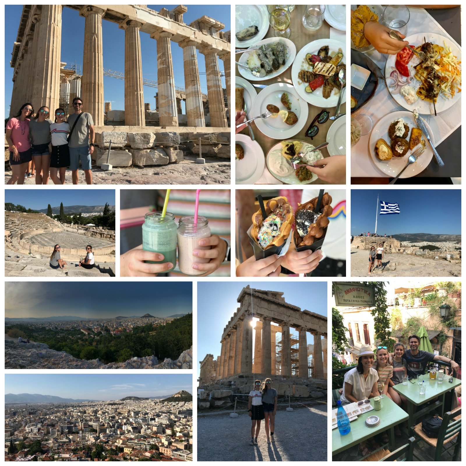 Athens Greece Pictures on 100 Days of Real Food