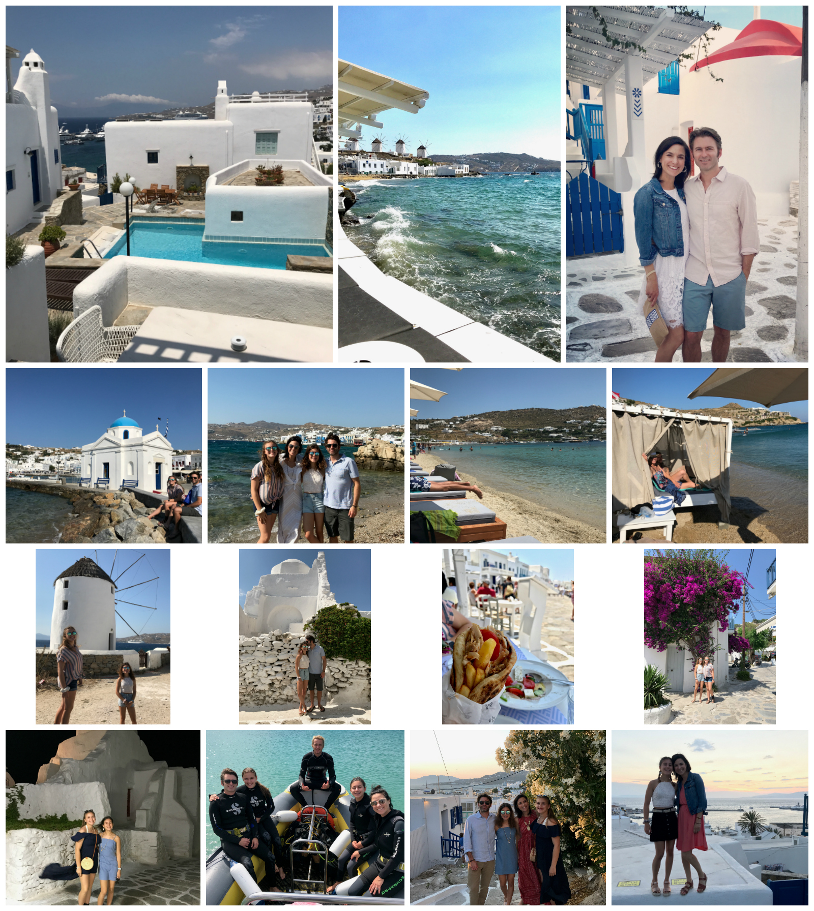 Mykonos Greece Pictures on 100 Days of Real Food