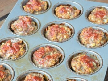 Mini Lunchbox Meatloaves on 100 Days of Real Food