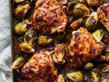 sheet pan chicken from Two Peas and Their Pod